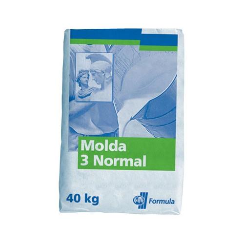 PLATRE MOLDA 3 - SAC DE 5 Kg - Alginate, Plâtres, Résine acrylique Gesmonite - Cigale et Fourmi