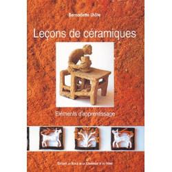 LECONS DE CERAMIQUE - BERNADETTE LHOTE