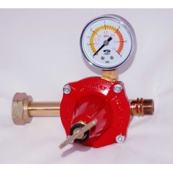 MANODETENDEUR GAZ PROPANE 12 kg/h - 0,3 à 3 bars
