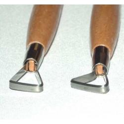 KIT DE 7 MIRETTES BORDS COUPANTS 20 cm - Outils de modelage - Cigale et Fourmi