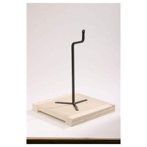 Photo TABLETTE DE MODELAGE - TIGE COUDEE - achat selles-de-sculpteur en ligne avec Cigale et Fourmi