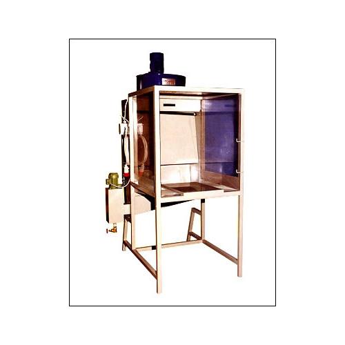 Photo CABINE D'EMAILLAGE A RIDEAU D'EAU A80 - achat materiel-d-atelier en ligne avec Cigale et Fourmi