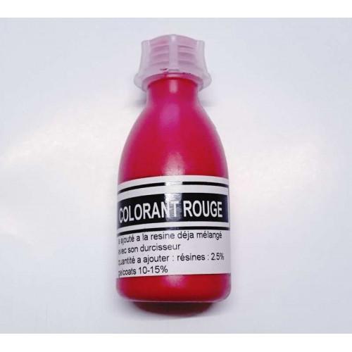 Photo COLORANT RESINE ROUGE - EP / UP / PU - 50 grammes - achat patines-colorants-pigments-et-charges-metalliques en ligne avec Cigale et Fourmi