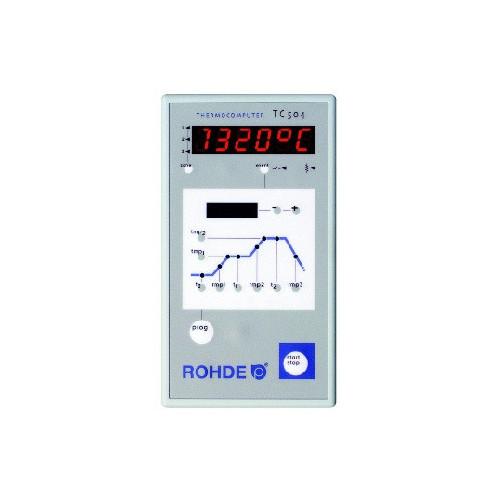 REGULATION ROHDE TC504 - Régulations de température - Cigale et Fourmi