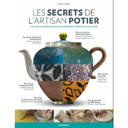 Photo LES SECRETS DE L'ARTISAN POTIER - JACQUI ATKIN - achat livres-sur-le-travail-de-la-terre en ligne avec Cigale et Fourmi
