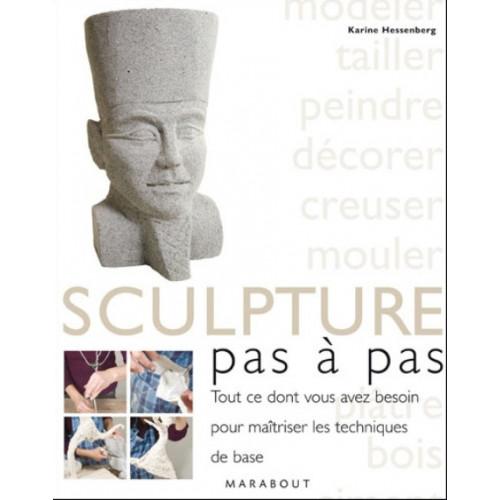 SCULPTURE PAS A PAS - KARIN HESSENBERG - JACQUI ATKIN - Livres Sculpture - Cigale et Fourmi