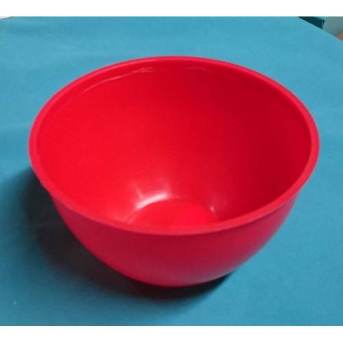 Photo BOL ROUGE PLASTIQUE - 500ml - L'UNITE - achat silicones-alginates-et-latex en ligne avec Cigale et Fourmi