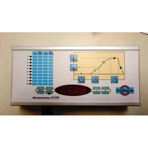 Photo REGULATION E103 -COFFRET 1350°C + CONNECTEUR ENITHERM - achat pyrometrie-et-regulations en ligne avec Cigale et Fourmi