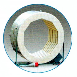 Four à grès électrique Rodhe TE 100 MCC ouverture verticale - Fours ROHDE série TE MCC+ - Cigale et Fourmi