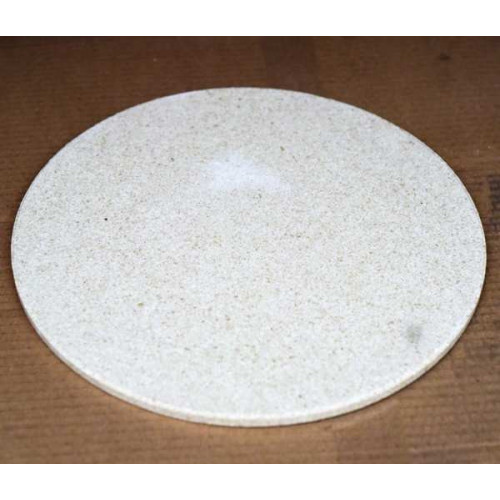 Photo PLAQUE RONDE ENFOURN. 396 mm x épaisseur 13 mm - achat materiel-d-enfournement en ligne avec Cigale et Fourmi