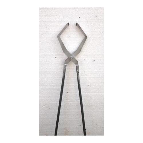 Photo PINCE RAKU N° 1 - LONG 67 cm - achat outils-de-cuisson en ligne avec Cigale et Fourmi
