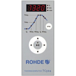 FOUR ROHDE 1320°C KE 100S + TC 304 - 100 LITRES - 230V MONOPHASÉ - Fours Rohde série KE-S - Cigale et Fourmi