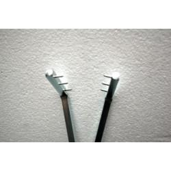 PINCE RAKU LAITON - LONGUEUR 80cm - Outils pour le raku - Cigale et Fourmi