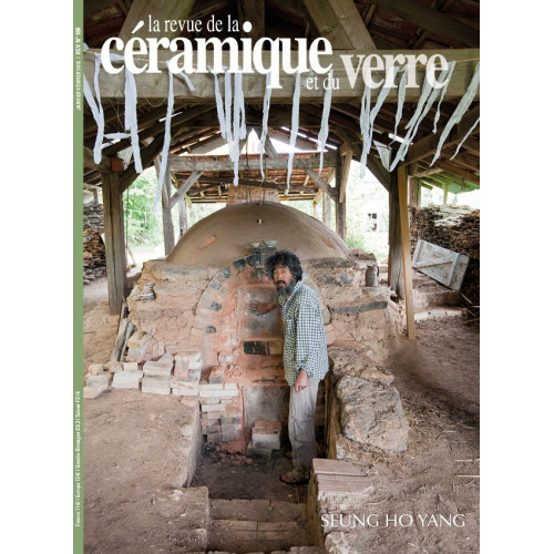 Photo LA REVUE DE LA CERAM n°188 janv-fev 2013 - achat la-revue-de-la-ceramique-et-du-verre en ligne avec Cigale et Fourmi
