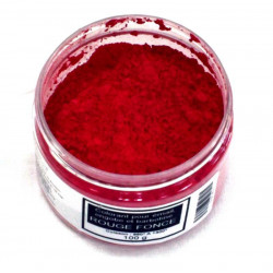 COLORANT ROUGE FONCE EMAUX & BARBOTINE - 100g