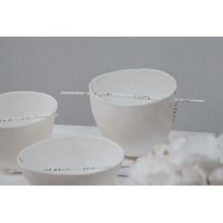 PORCELAINE PAPER CLAY SCARVA  ES600 - SAC 5 Kg - Terres à Porcelaine - Cigale et Fourmi