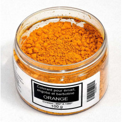 COLORANT ORANGE EMAUX & BARBOTINE - 100g
