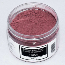 COLORANT ROSE EMAUX & BARBOTINE - 100g