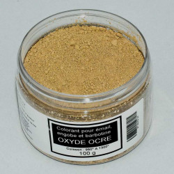 COLORANT OCRE ROSE EMAUX & BARBOTINE - 100g