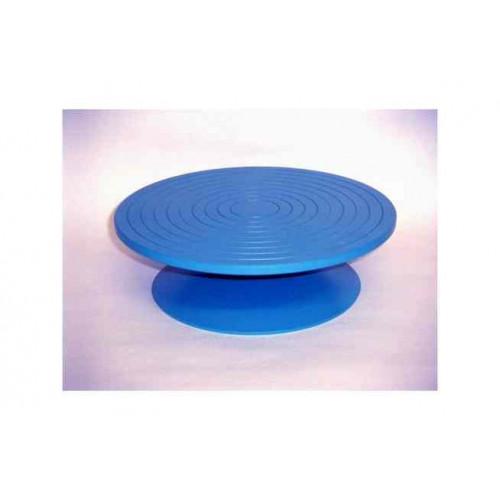 Photo TOURNETTE DE TABLE EN ACIER DIA 180 mm - HAUT 110 mm - achat selles-de-sculpteur en ligne avec Cigale et Fourmi