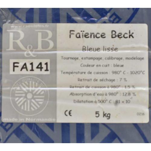 FAIENCE BLEUE FA141 -  - SAC DE 5 KG - Terres à Faïence - Cigale et Fourmi