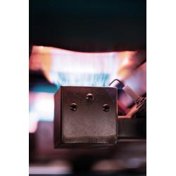 FOUR ROHDE A GAZ - AIR INDUIT - TG 170 - 1320°C - Fours gaz 1320°C à enfournement vertical - Cigale et Fourmi