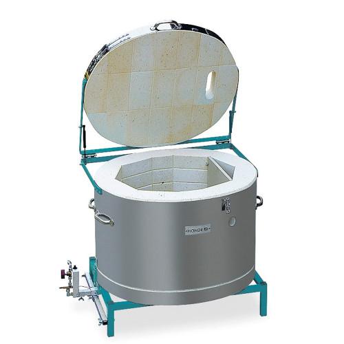Photo FOUR A GAZ - AIR INDUIT - ROHDE TG 80 - 1320°C - achat fours-gaz-1320c en ligne avec Cigale et Fourmi