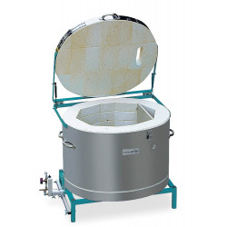 FOUR A GAZ - AIR INDUIT - ROHDE TG 220 - 1320°C