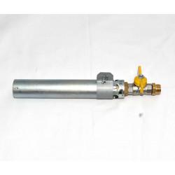 BRULEUR GAZ 33 KW DROIT + ROBINET 1/4 DE TOUR + ENTREE MALE 20X150 - Brûleurs gaz propane - Cigale et Fourmi