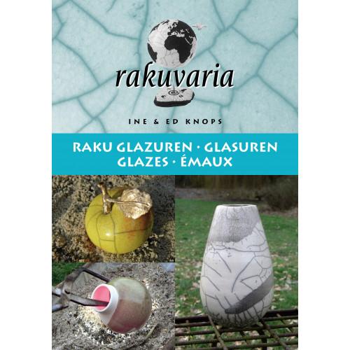 Photo RAKUVARIA - RECETTES D'EMAUX POUR RAKU - achat livres-raku en ligne avec Cigale et Fourmi