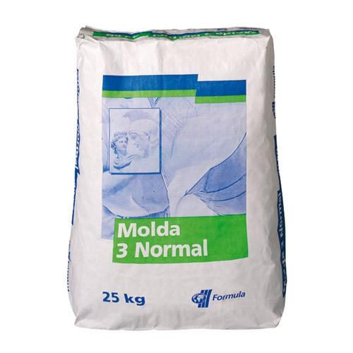 PLATRE MOLDA 3 - SAC DE 25KG - Alginate, Plâtres, Résine acrylique Gesmonite - Cigale et Fourmi