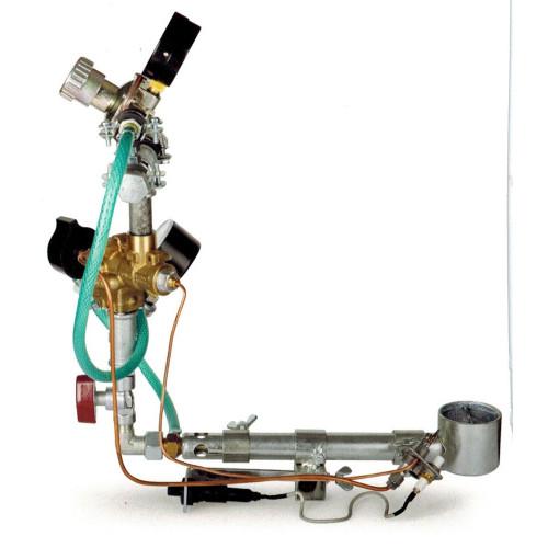 OPTION GAZ NATUREL POUR FOUR ROHDE TG80 - Fours gaz 1320°C à enfournement vertical - Cigale et Fourmi