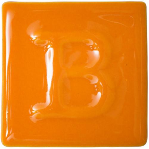 Photo B9486- EMAIL PREPARE BRILLANT CITROUILLE - achat emaux-prepares-botz-1020-1060c en ligne avec Cigale et Fourmi