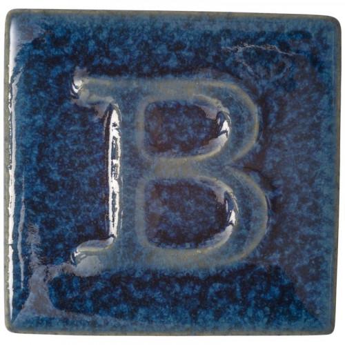 Photo B9542- EMAIL PREPARE BRILLANT BLEU FONCE A EFFETS - achat emaux-prepares-botz-1020-1060c en ligne avec Cigale et Fourmi