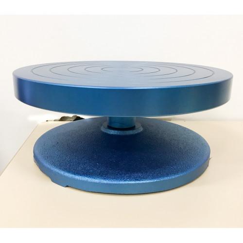 Photo TOURNETTE DE TABLE - HAUTE - EN FONTE DIA 250mm x HAUT 110 mm - achat selles-de-sculpteur en ligne avec Cigale et Fourmi