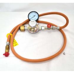 FOUR GAZ 750 LITRES - TOUT BRIQUE AVEC CANNE + LECTEUR - Fours gaz 1320°C à enfournement frontal - Cigale et Fourmi