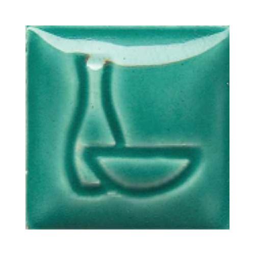 EMAIL DUNCAN VERT - PRET A L EMPLOI - 472ml - Émaux faïence liquides Duncan Série IN 980°C - 1060°C - Cigale et Fourmi