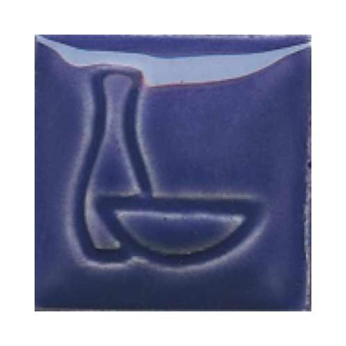 Email Duncan Bleu Larkspur - Prêt à l'emploi - 472ml - Émaux faïence liquides Duncan Série IN 980°C - 1060°C - Cigale et Fourmi