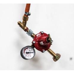BRULEUR RAKU 15KW+MANO+SECURITE FLAMME+ANTI FUITE GAZ+TUYAU - Brûleurs gaz propane - Cigale et Fourmi