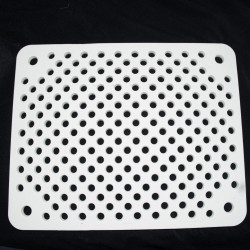 PLAQUE PERFOREE RECTANGULAIRE  - 1300°C - 450 x 365 x 15