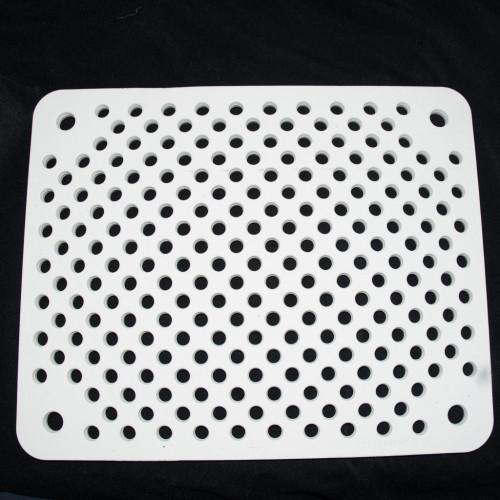 Photo PLAQUE PERFORéE - 1300°C - 450 x 365 x 15 - achat materiaux-pour-construire-son-four-raku en ligne avec Cigale et Fourmi