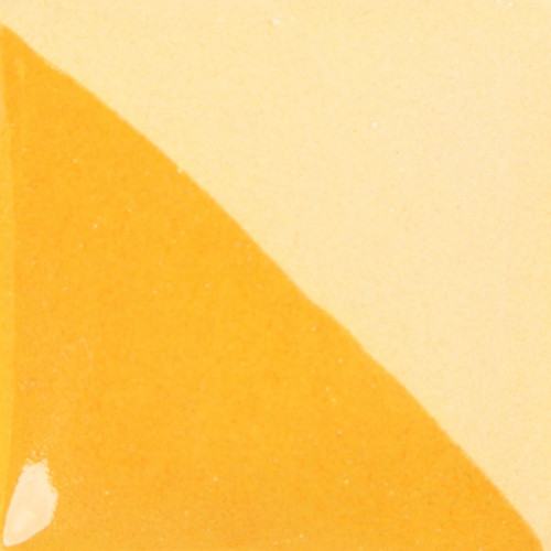 Photo ENGOBE COVER-COAT JAUNE ORANGE-473ml - achat cover-coat-engobe-liquide-duncan en ligne avec Cigale et Fourmi