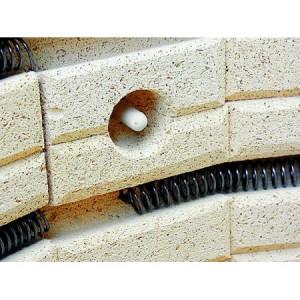 Photo TE110MCC - 110 LITRES AVEC ANNEAU -1300°C + TC304 - achat fours-rohde-serie-te-mcc en ligne avec Cigale et Fourmi