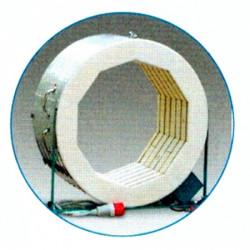 FOUR ROHDE TE190MCC - 190 LITRES AVEC ANNEAU -1300°C + TC304 - 230V MONO - Fours ROHDE série TE MCC+ - Cigale et Fourmi