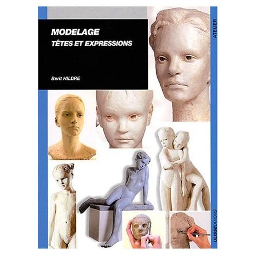 Photo MODELAGE - TETE ET EXPRESSIONS B.HILDRE - achat sculpture en ligne avec Cigale et Fourmi