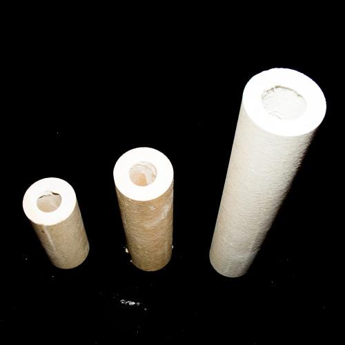 Photo QUILLE RONDE HAUTEUR 50 mm - DIAMÈTRE 45 mm - ALCORIT 1350°C - achat materiel-d-enfournement en ligne avec Cigale et Fourmi