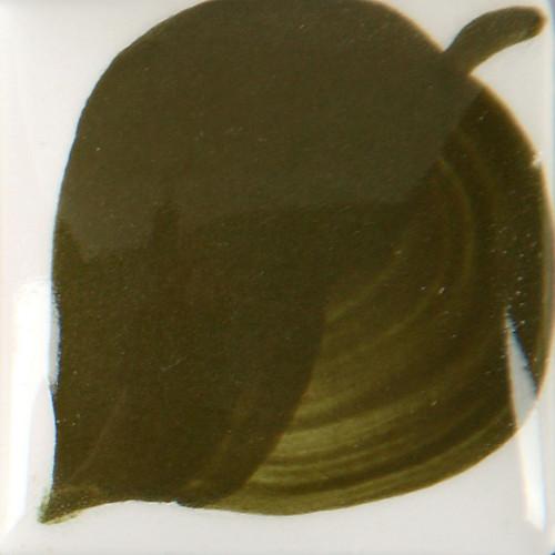 Photo EZ STROKE 071 -30ml- VERT OLIVE FONCE - achat emaux-oxydes-et-engobes en ligne avec Cigale et Fourmi