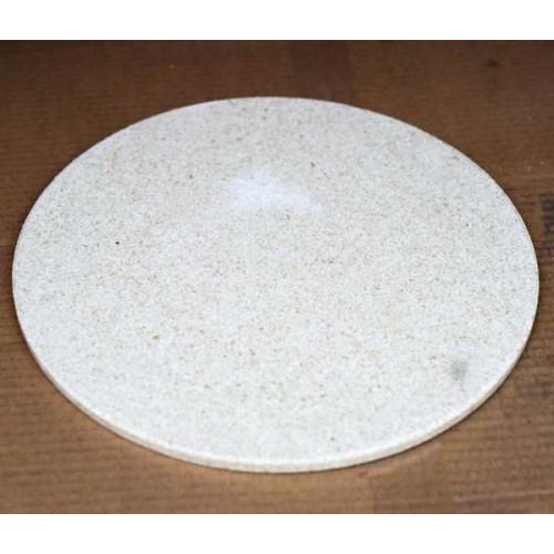 Photo PLAQUE RONDE ENFOURNEMENT. DIAMÈTRE 225 mm - épais 10 mm - achat materiel-d-enfournement en ligne avec Cigale et Fourmi