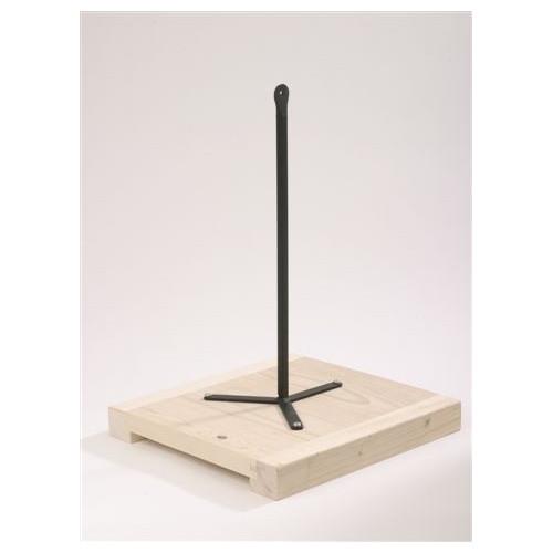 TABLETTE DE MODELAGE - TIGE DROITE - Selles de sculpteur - Cigale et Fourmi