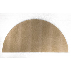 DEMI-PLAQUE RONDE ENFOURN. DIAMETRE 470 mm x 15 mm